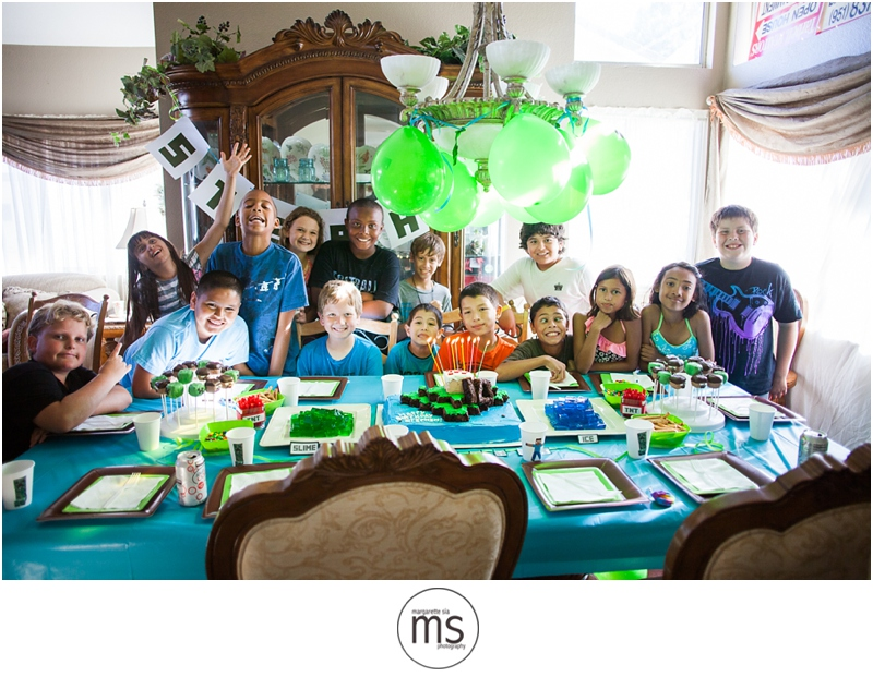 Minecraft Birthday Party_0025