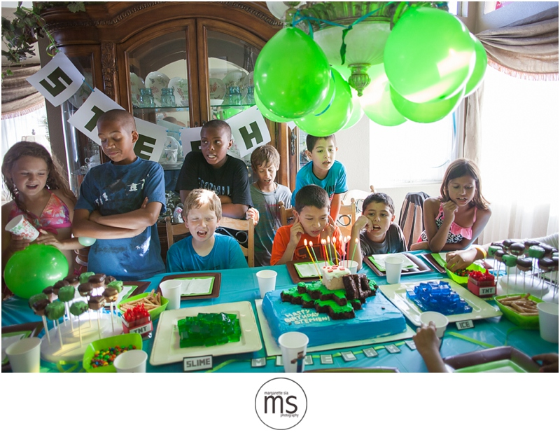 Minecraft Birthday Party_0026