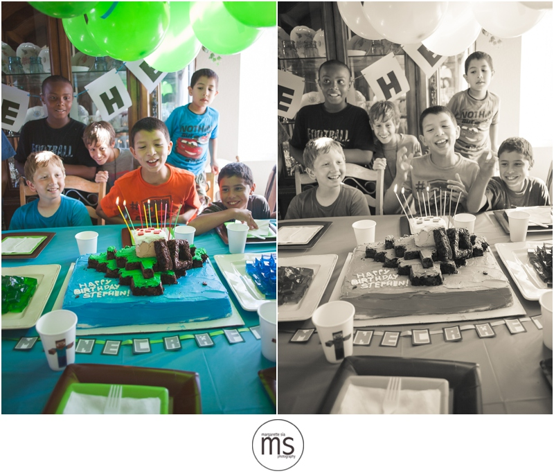 Minecraft Birthday Party_0030