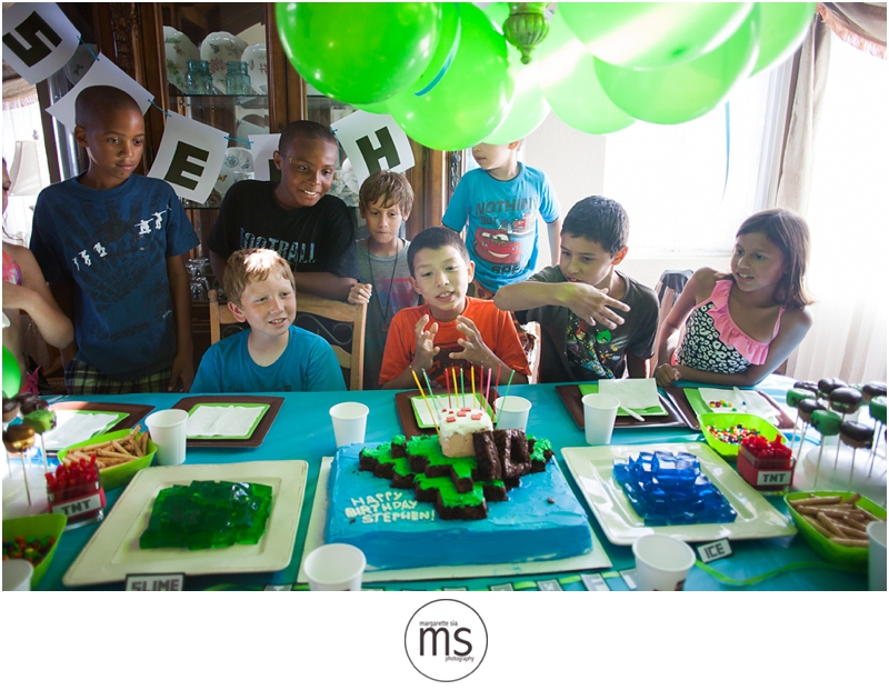 Minecraft Birthday Party_0031