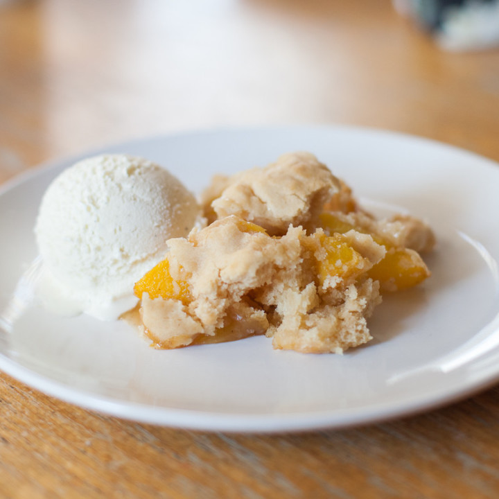 Karen In The Kitchen's Peach Cobbler