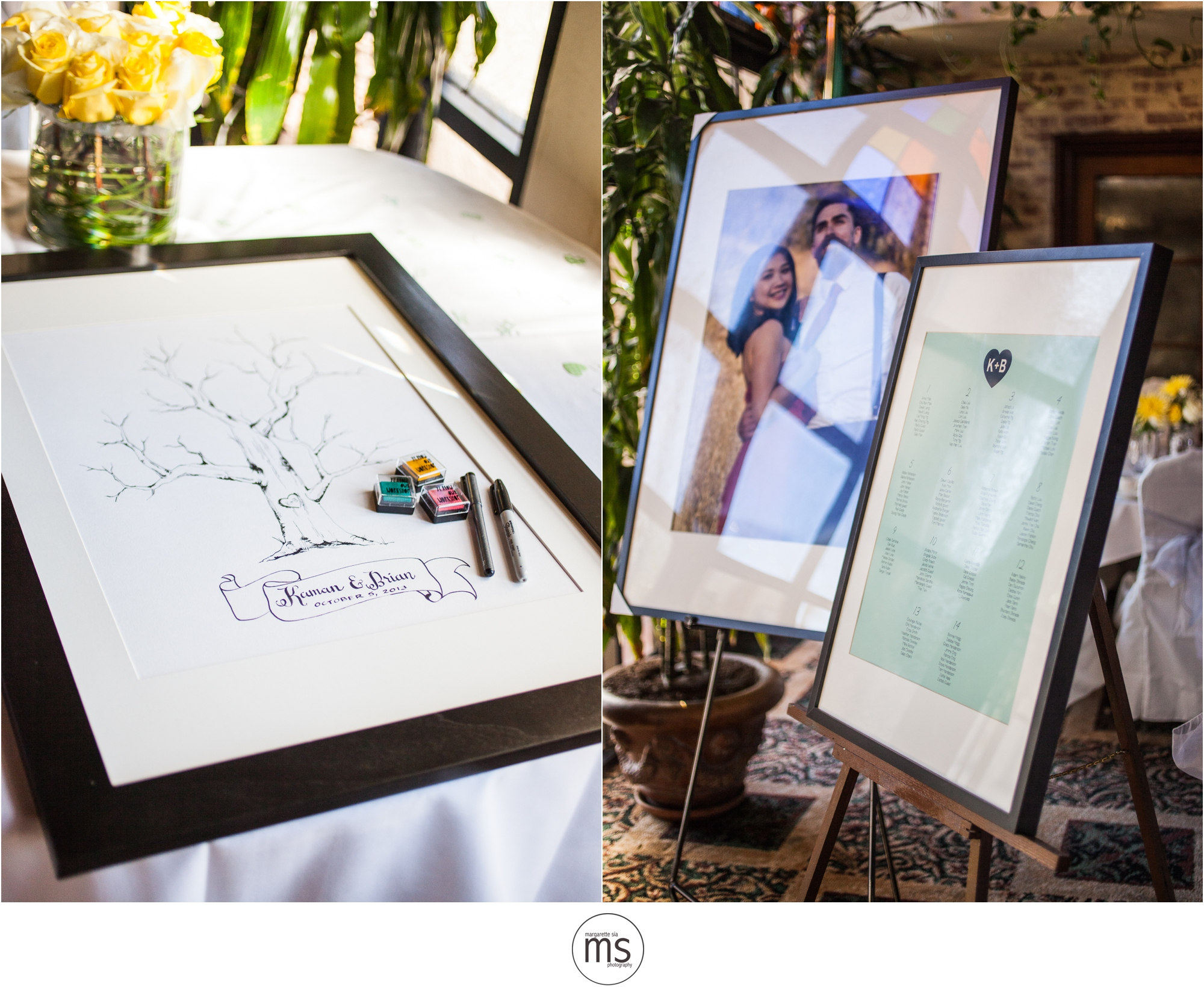 Brian U0026 Kaman Wedding Michaelu0027s Tuscany Room San Pedro CA Margarette Sia  Photography_0006 ...