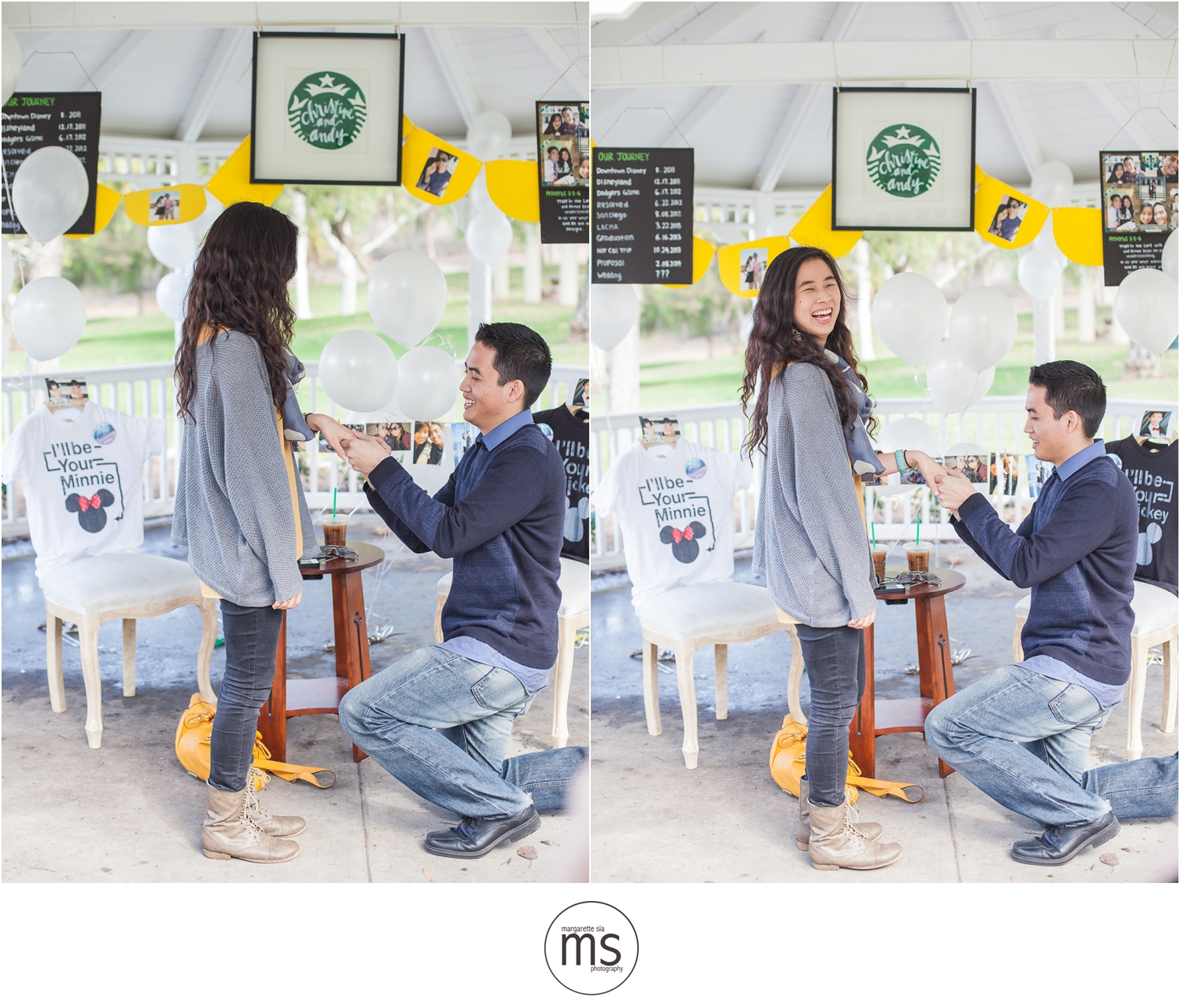 Christine Andy Starbucks Themed Proposal Shabarum Park Rowland Heights Portraits Margarette Sia Photography_0043