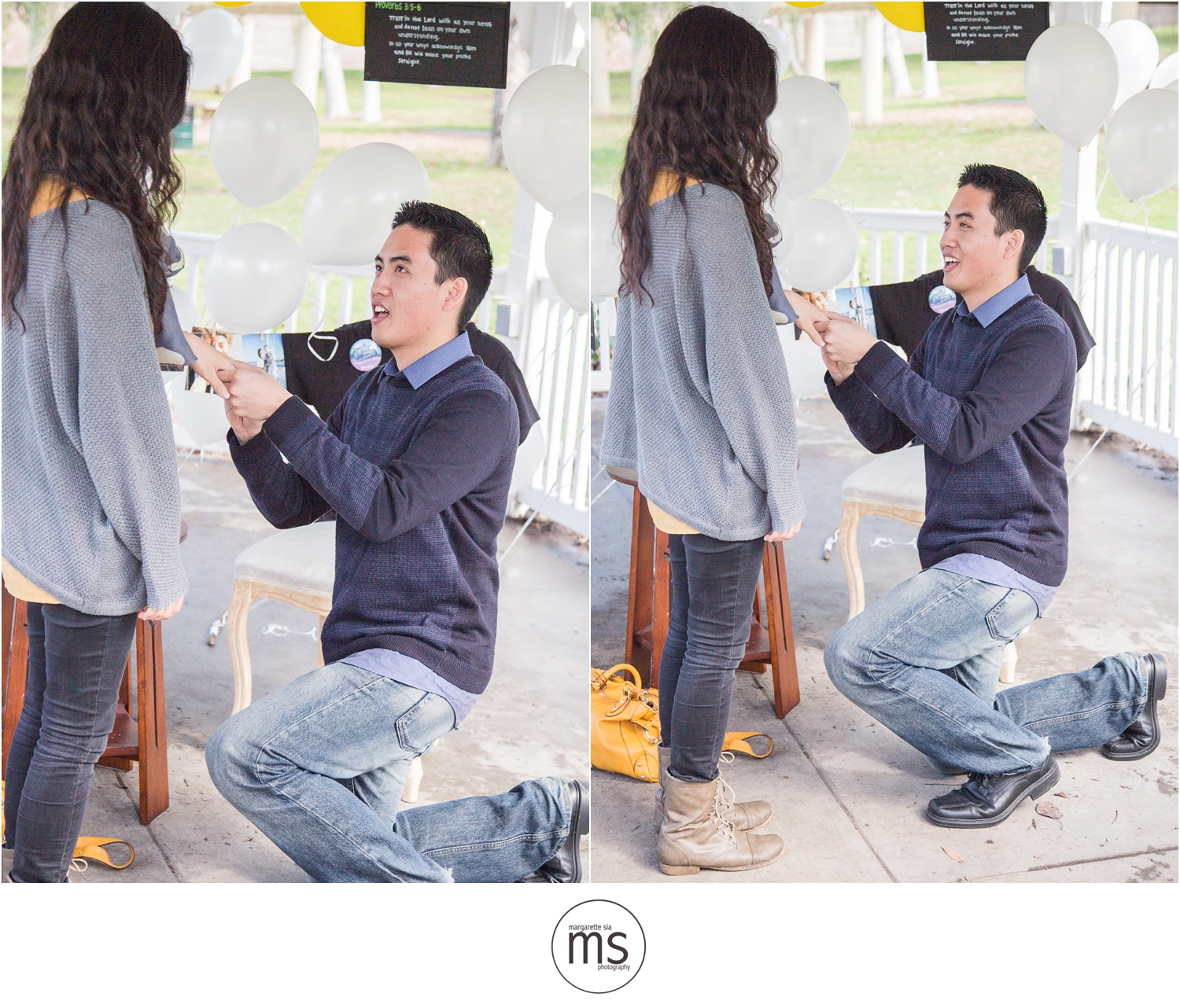 Christine Andy Starbucks Themed Proposal Shabarum Park Rowland Heights Portraits Margarette Sia Photography_0044