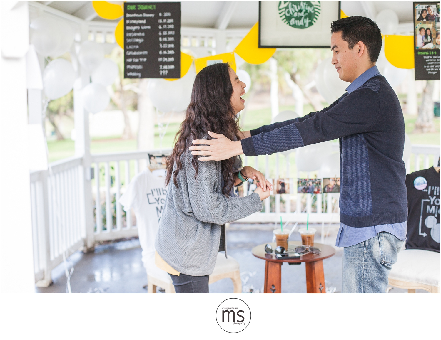 Christine Andy Starbucks Themed Proposal Shabarum Park Rowland Heights Portraits Margarette Sia Photography_0045