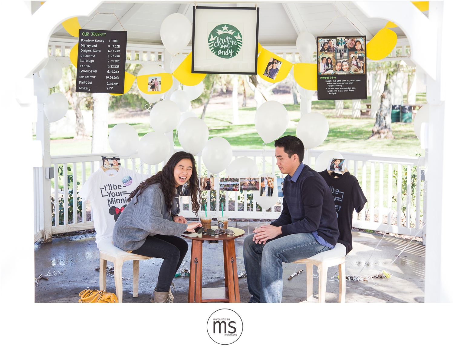 Christine Andy Starbucks Themed Proposal Shabarum Park Rowland Heights Portraits Margarette Sia Photography_0056
