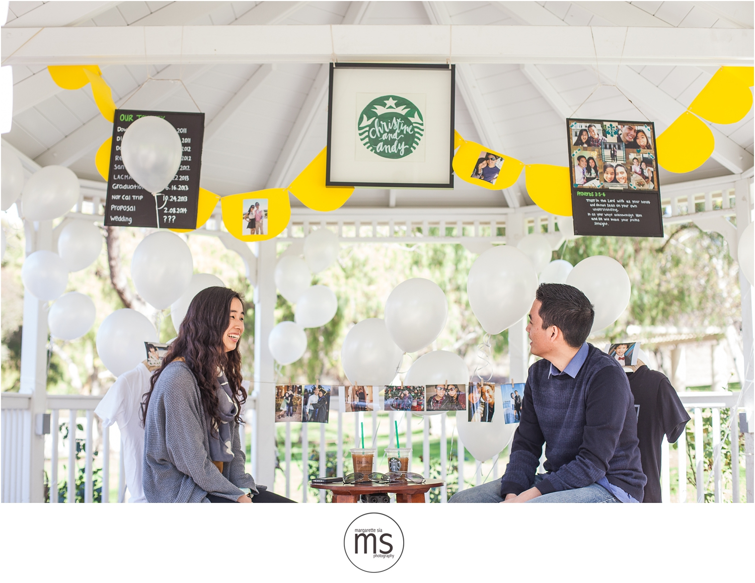 Christine Andy Starbucks Themed Proposal Shabarum Park Rowland Heights Portraits Margarette Sia Photography_0057