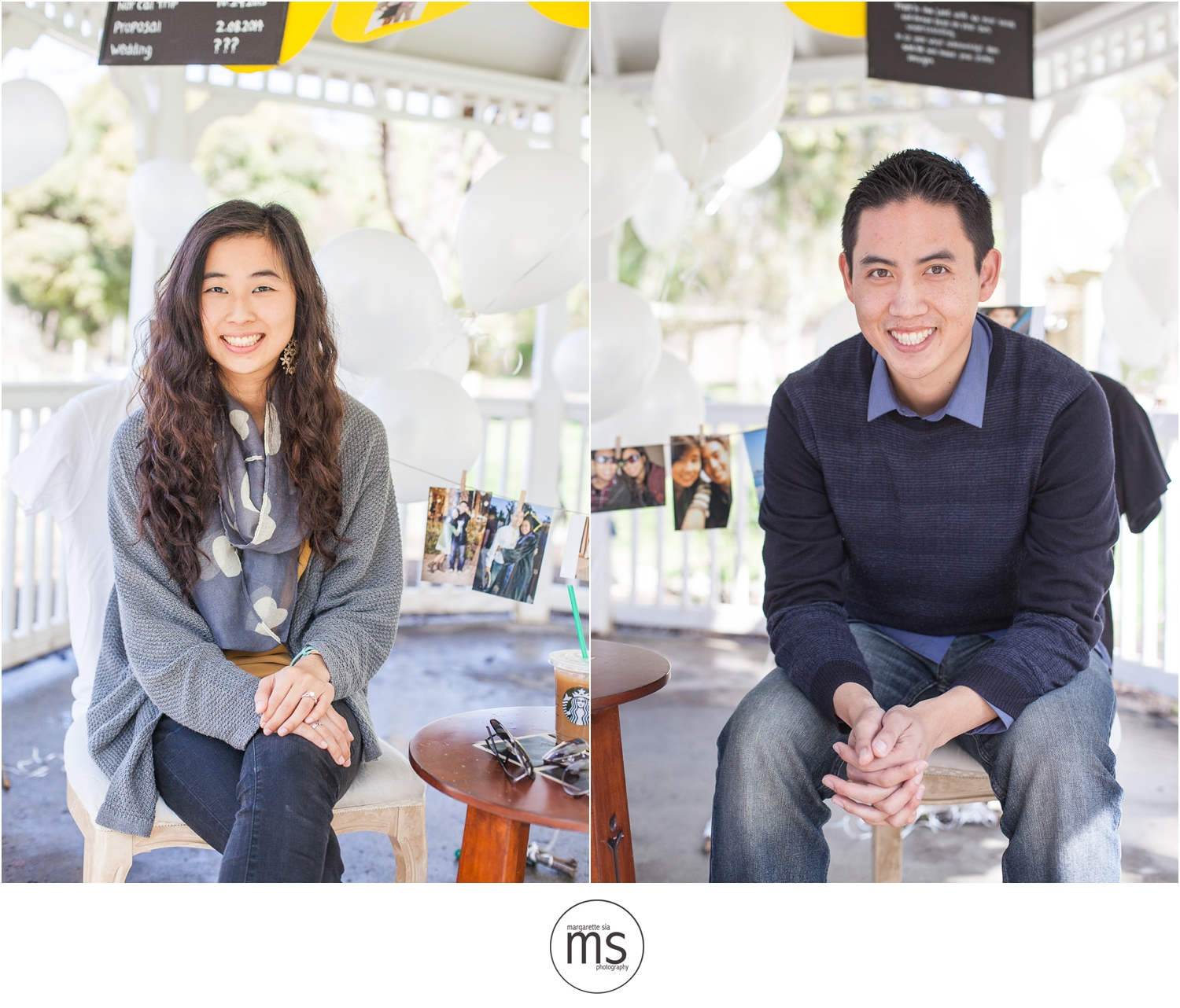 Christine Andy Starbucks Themed Proposal Shabarum Park Rowland Heights Portraits Margarette Sia Photography_0062