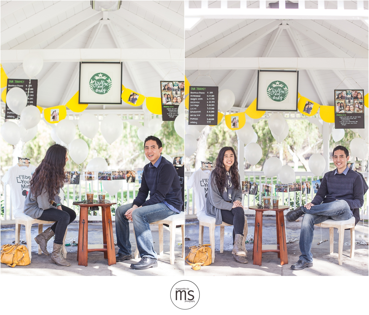 Christine Andy Starbucks Themed Proposal Shabarum Park Rowland Heights Portraits Margarette Sia Photography_0063