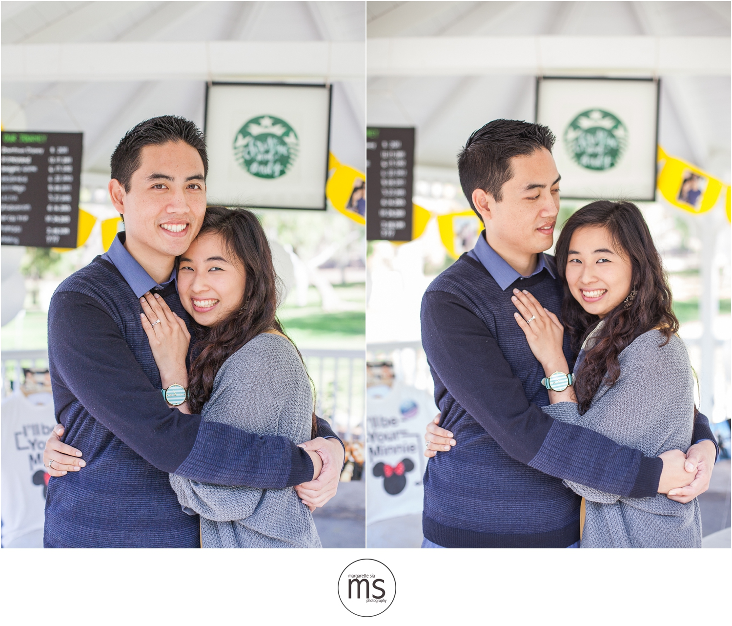 Christine Andy Starbucks Themed Proposal Shabarum Park Rowland Heights Portraits Margarette Sia Photography_0067
