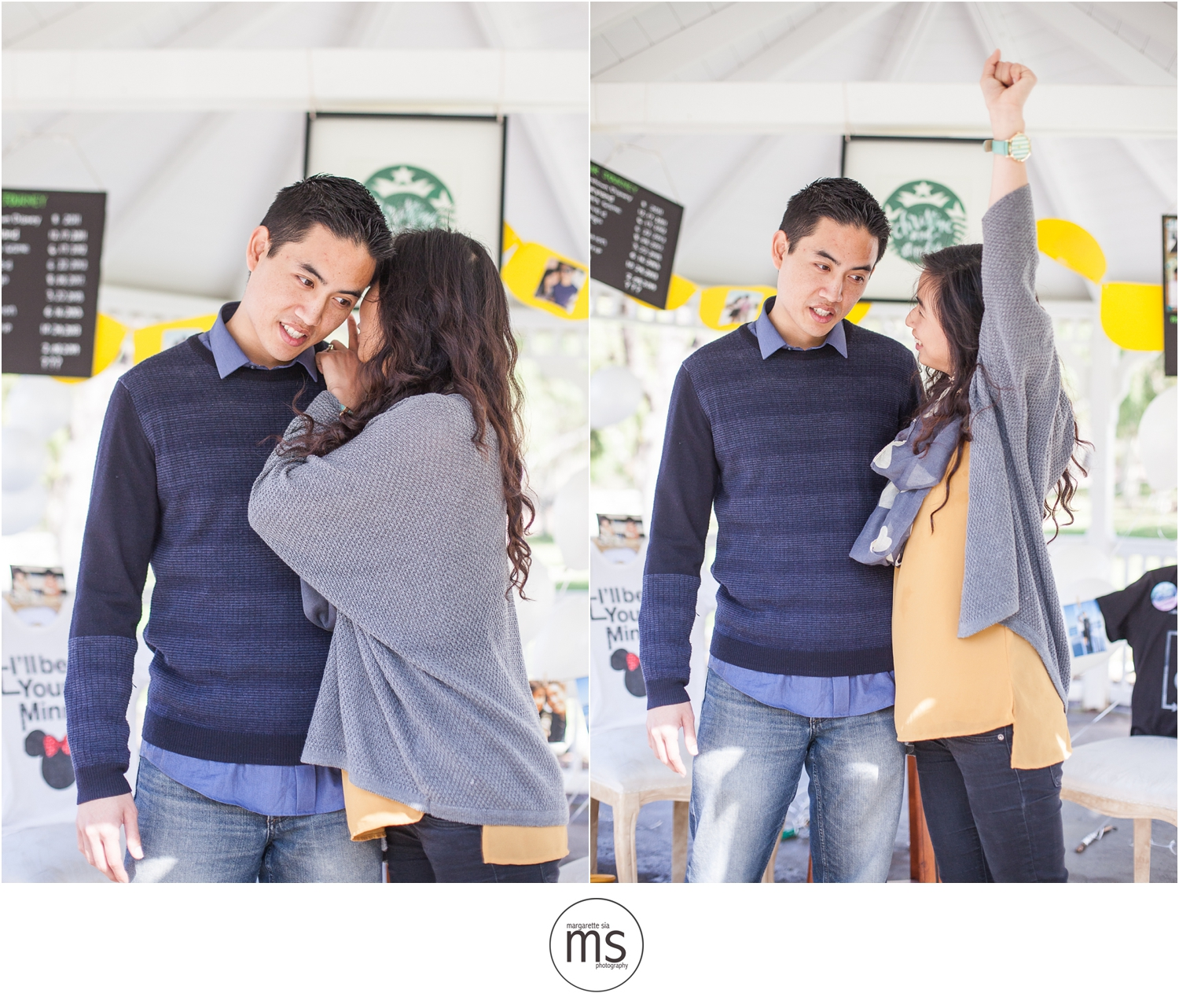 Christine Andy Starbucks Themed Proposal Shabarum Park Rowland Heights Portraits Margarette Sia Photography_0073