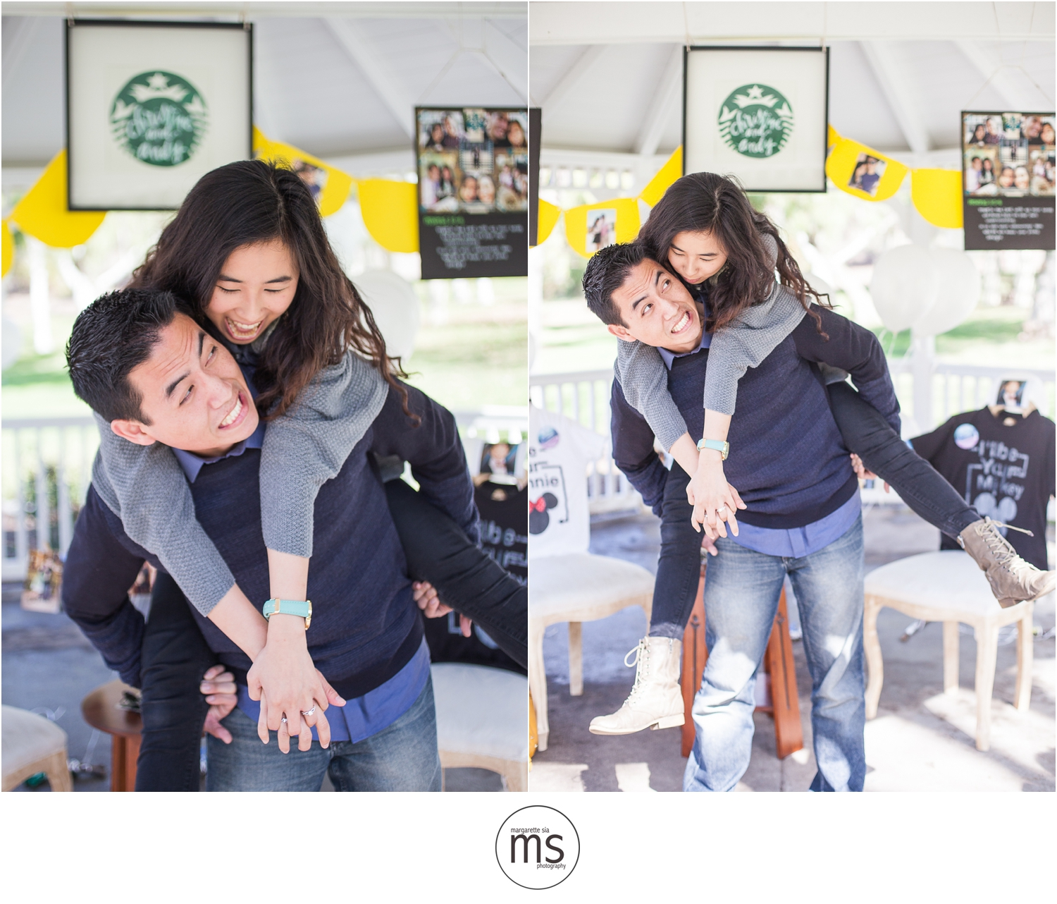 Christine Andy Starbucks Themed Proposal Shabarum Park Rowland Heights Portraits Margarette Sia Photography_0076