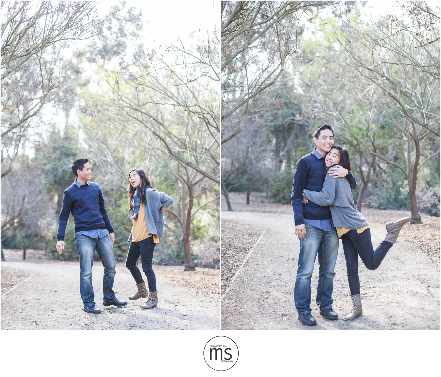 Christine Andy Starbucks Themed Proposal Shabarum Park Rowland Heights Portraits Margarette Sia Photography_0090
