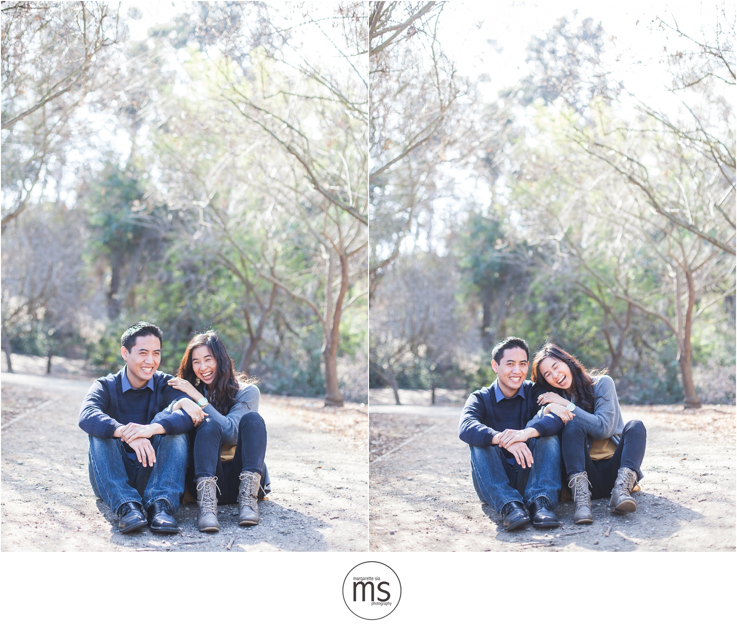 Christine Andy Starbucks Themed Proposal Shabarum Park Rowland Heights Portraits Margarette Sia Photography_0094