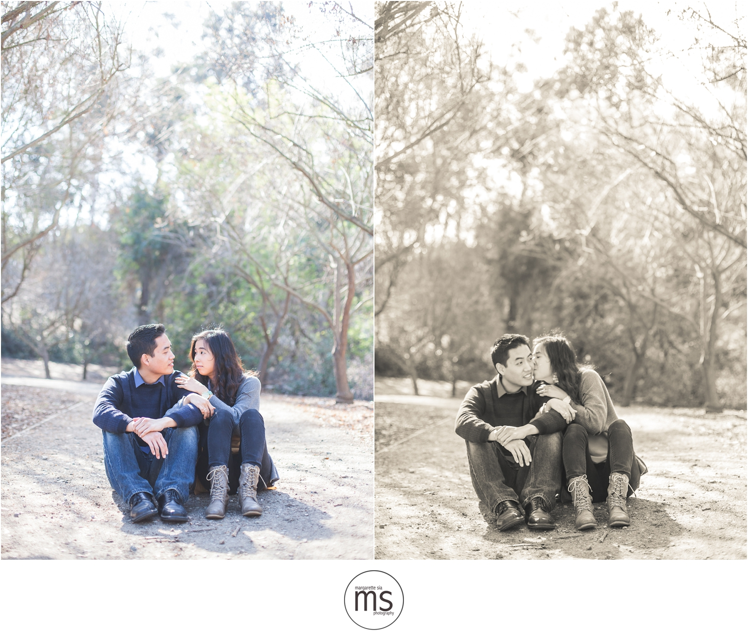 Christine Andy Starbucks Themed Proposal Shabarum Park Rowland Heights Portraits Margarette Sia Photography_0095