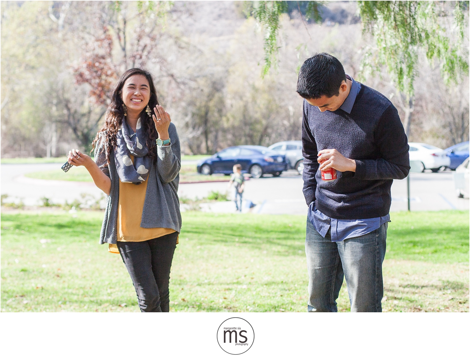 Christine Andy Starbucks Themed Proposal Shabarum Park Rowland Heights Portraits Margarette Sia Photography_0142