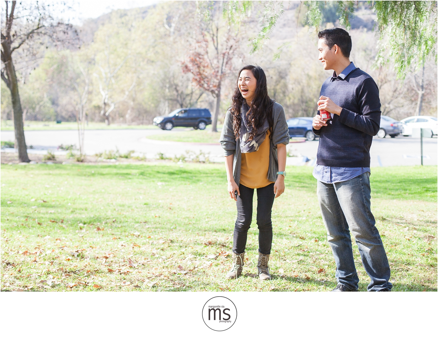 Christine Andy Starbucks Themed Proposal Shabarum Park Rowland Heights Portraits Margarette Sia Photography_0145