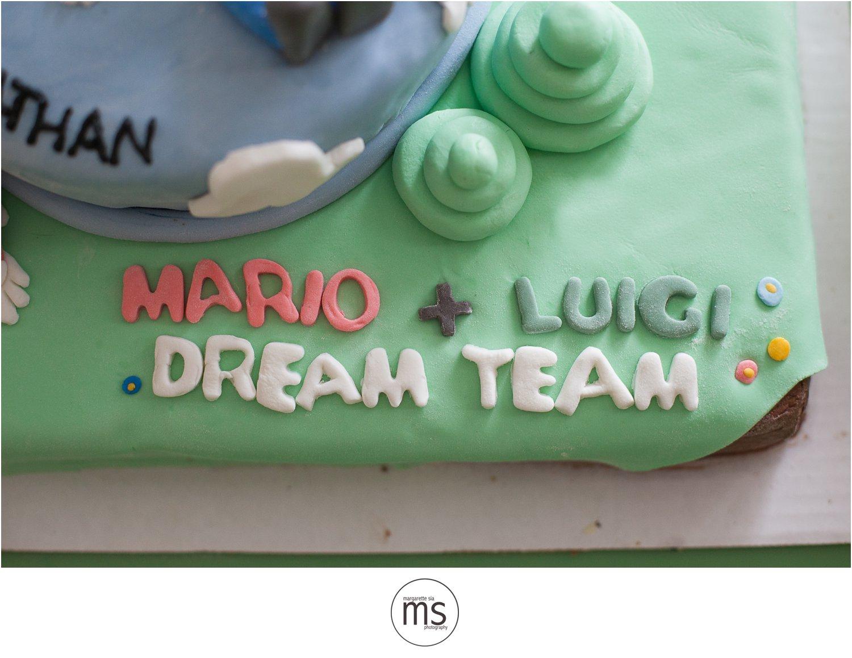 Mario Luigi Dream Team Birthday Party Margarette Sia Photography