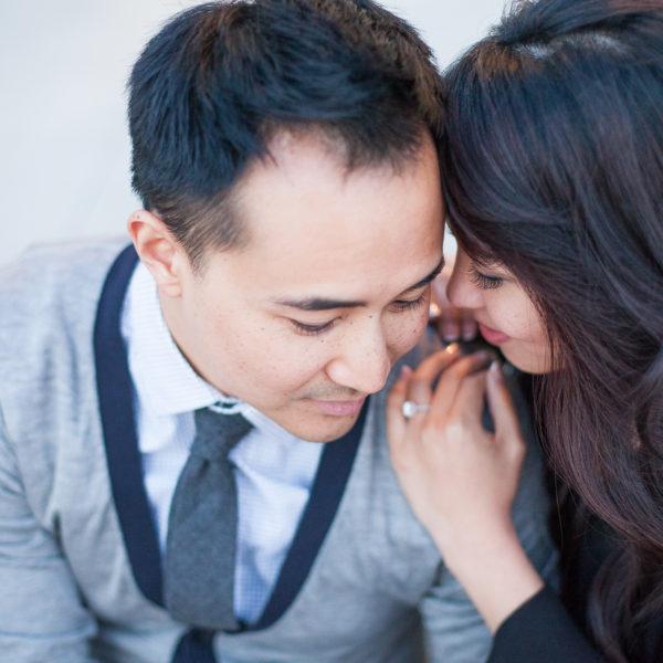 Chris & Priscilla's Engagement Session | Arcadia & Old Town Pasadena, CA