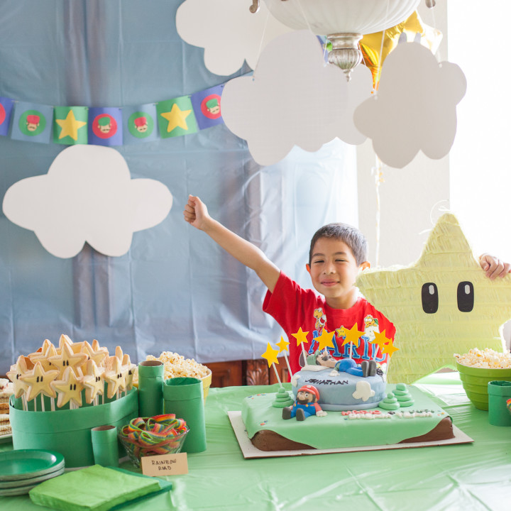 Jonathan's Mario & Luigi Dream Team Inspired Birthday Party