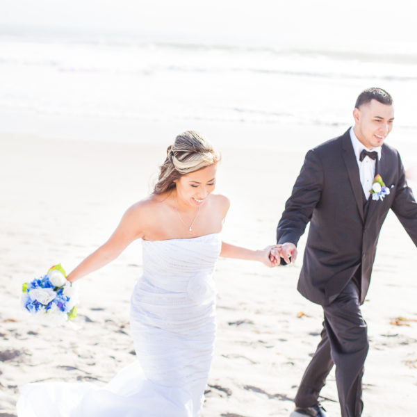Robby & Julie Beach Wedding | Coronado Island, CA