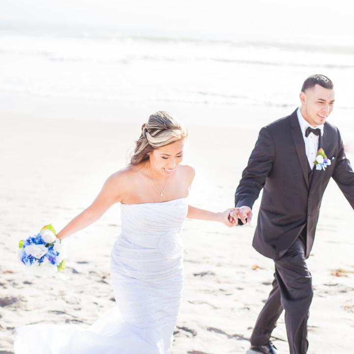 Robby & Julie Beach Wedding | Coronado Island, CA