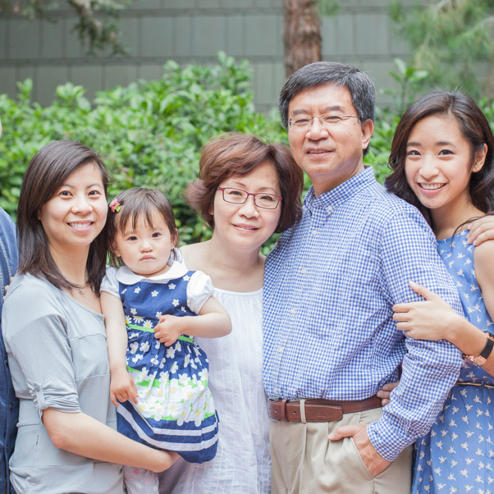 The Lee Family Portraits | Downtown Disney in Anaheim, CA