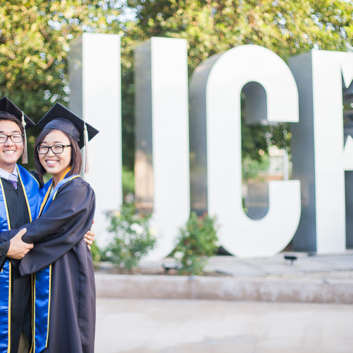 Ryan & Priscilla's Senior Portraits | UCR in Riverside, CA