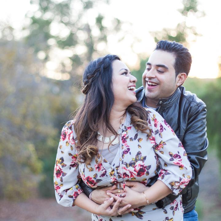 Vineet & Tanya's 9th Anniversary Mini Session | Glen Arbor Park in Murrieta, CA