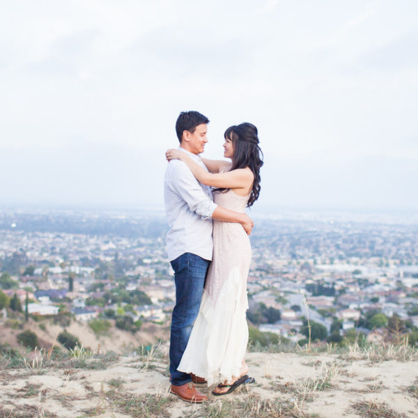Jennifer & Eric's Engagement Session | Arcadia Arboretum & Los Angeles, CA