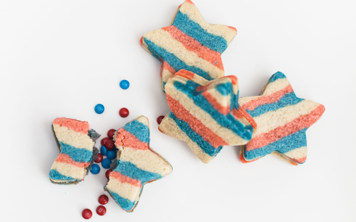 Fourth of July Piñata Cookies Recipe