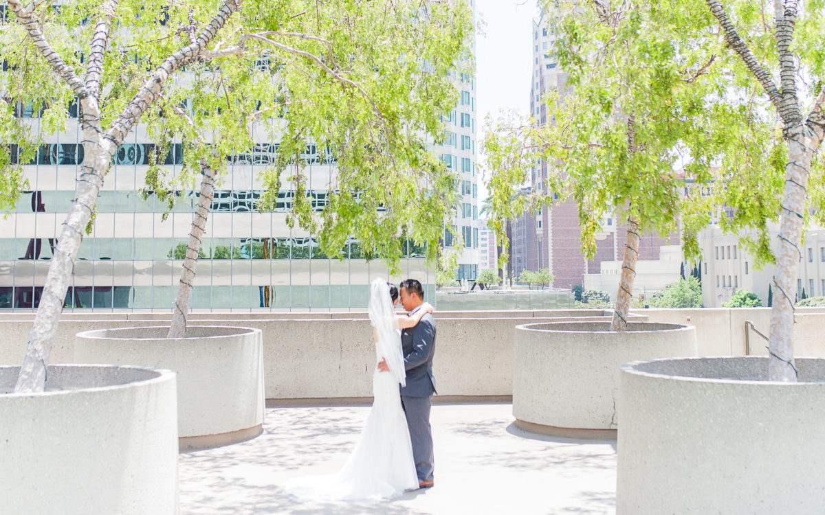 Lisa & Brian's Los Angeles Wedding // Westin Bonaventure