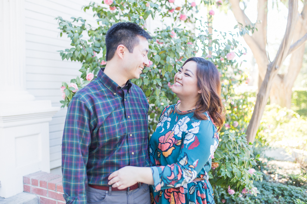 Vincent & Lois's Claremont Engagement Session