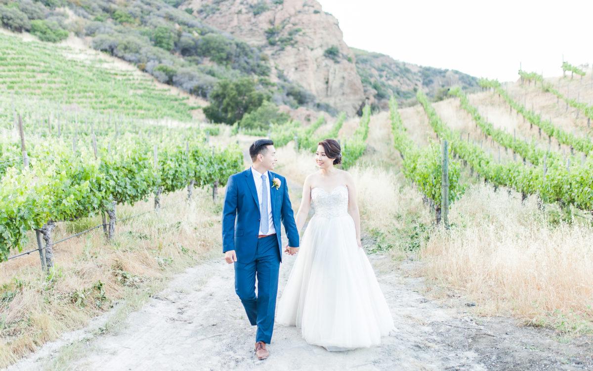 Arnold & Jessica's Malibu Wedding